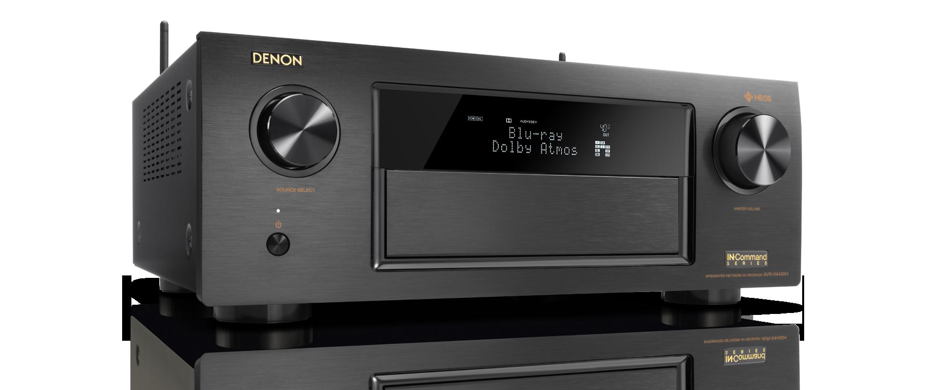 Denon AVR-X4400H - 9 2 channel AV Surround Receiver