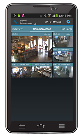 Eagle Eye Networks - Cloud Security Camera VMS allows access from anywhere
