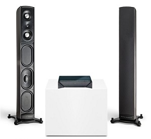 Definitive Technology - Mythos ST-L Flagship Super Tower with Built-In Powered Subwoofer - Priced Each.
